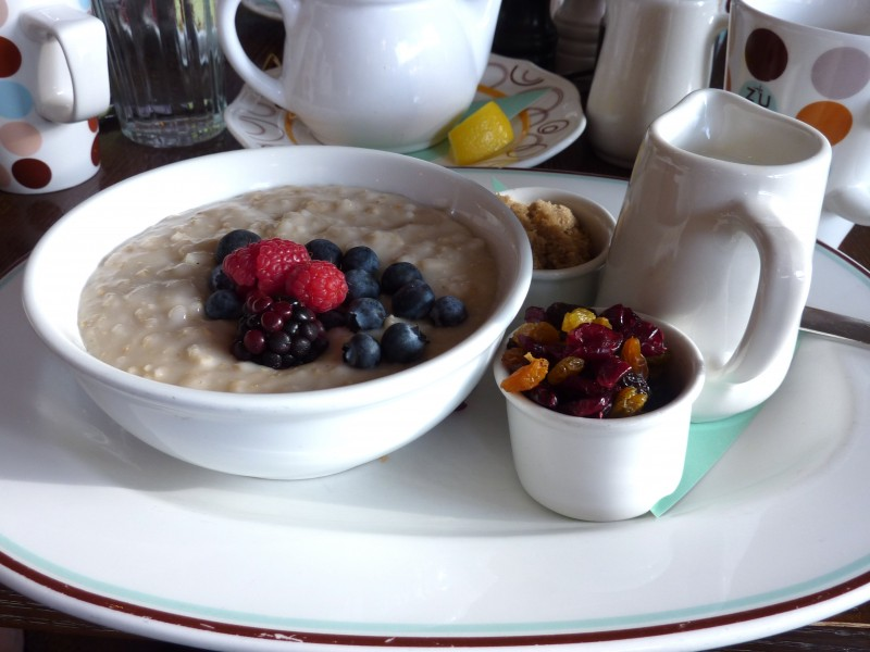 what to eat after a workout, oatmeal