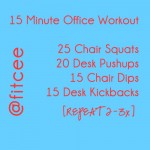 The 15 Minute Office Workout